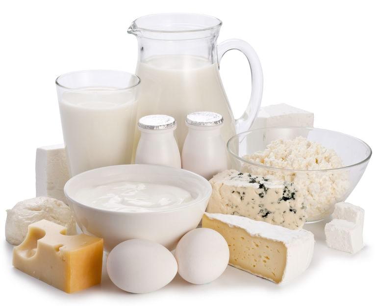 Les produits laitiers sont à éviter