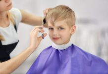 coupe de cheveux enfant